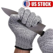 Protective Cut Stab Resistant Gloves Level 5 Certified Safety Meat Wood Carving