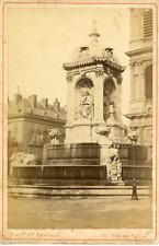 Maison Martinet, France, Paris, Fontaine Saint-Sulpice, ca. 1880, vintage albume