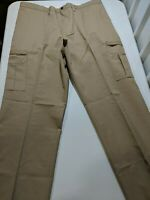 Men's Dickies Industrial Cargo Pants Khaki 42x34 Desert Sand Tan New NWT w/ Tags