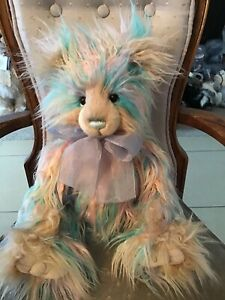 """AURORA CHARLIE BEARS 2021 PLUSH BEAR * SECRET COLLECTION 19"""" NEW WITH TAGS"""