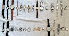Lot de 30 montres quartz. Tissot,  Swatch, Gucci, Ebel, Citizen, Certina, etc