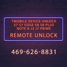 Samsung Galaxy S8/S8+ Note 8 Instant T-mobile Unlock App Unlock Service