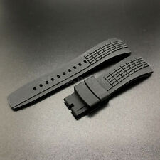 26mm Rubber Diver Watch Band Strap Replacement for SEIKO Kinetic Velatura Mens
