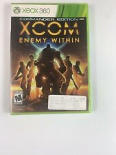 XCOM: Enemy Within Commander Edition (Xbox 360, One, 2013) New Sealed Free S/H