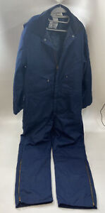 Zero Zone by Walls Men's Insulated Coveralls Navy Blue - Size XL