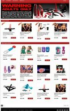 ADULT TOYS WEBSITE BUSINESS FOR SALE! DROPSHIPPING SUPPLIER INCLUDED
