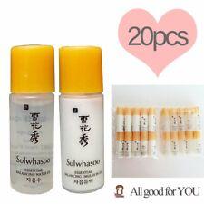 Sulwhasoo 10 x Essential Balancing Ex Water 5ml + 10 x Emulsion 5ml ( 20 Total)