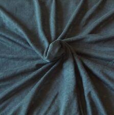 100% Linen Jersey Knit Fabric By Yard Denim 7/17