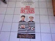 affiche pantalon 160 x 60 film NOUS NE SOMMES PAS DES ANGES De Niro Sean Penn
