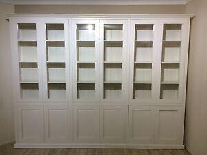 """Canberra 2.0"" Integrated Wall Unit Bookshelf Living Room Furniture"