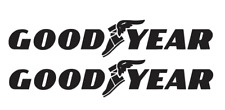 GOODYEAR DECALS QTY (BUY 1 GET 2) Free shipping Die Cut