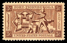 Scott #1071 — Fort Ticonderoga