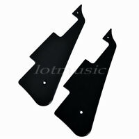 2 Pcs 3 Ply Black Electric Guitar Pickguard Scratch Plate for Guitar Parts