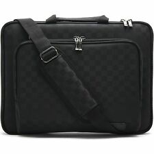 "Surface Book 2 13.5"" Laptop Case Sleeve Memory Foam Shoulder Bag Checked"