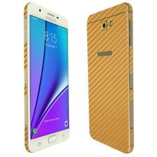 Skinomi Gold Carbon Fiber Skin+Screen Protector For The Samsung Galaxy J7 Prime