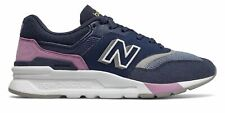 New Balance Women's 997H Shoes Navy with Pink