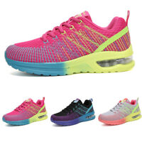 Women's Sport Air Cushion Running Shoes Breathable Mesh Walking Tennis Sneakers