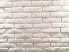 Innen & Außen Verblendstein Aus Beton Preiswert Kaufen 10m² Riemchen Verblender Weiß