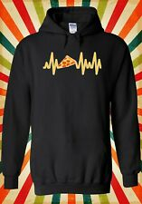 Pizza Lover Pizza Heartbeat Pulse Men Women Unisex Top Hoodie Sweatshirt 2420