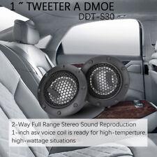 DDT-S30 A Pair Soft Dome Car Audio Component Tweeters 360W Enhance Sound Music