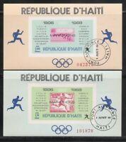Haiti .Olympic Marathon Winners 1896-1968 Souvenir Sheet. Imperforated MNH