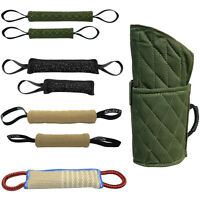 Police Dog Training Bite Tug Toys Young Dog Chewing Biting Arm Sleeve Obedience