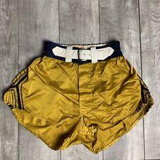 RARE Vintage McGregor 1950's Boxing Satin Shorts w/ Belt Mens 34