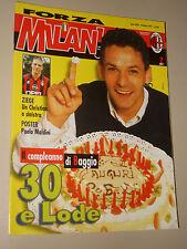 FORZA MILAN=1997/2=ROBERTO BAGGIO=CHELSEA=KARL HEINZ SCHNELLINGER=MALDINI POSTER