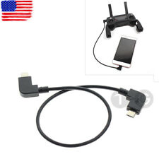 Remote Controller Data Transfer Cable For DJI MAVIC PRO AIR Spark IOS iPhone iPa