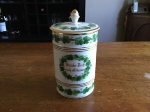 German Porcelain Stein-1842 Hamburg Fire-KPM Factory Marks And Sceptre-With Lid