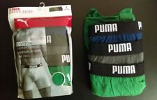 Men's Puma 3 Pack boxer briefs Size Large in Green / Navy Blue / Gray (Heather)