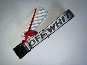 Off-White Tie Down 200 CM Nylon Industrial Multi-Color Belt, OFFWHITE BELT Long!