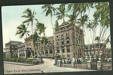 Pre 1915 unused postcard Galle Face Hotel Colombo Ceylon no.36 Plate & Co.