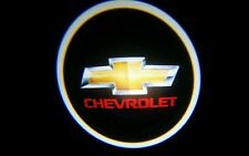 2 x LED Logo Light Ghost Shadow Projector Car Door Courtesy Laser CHEVROLET red