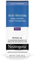 Neutrogena Ageless Intensives Wrinkle Anti-Wrinkle Moisture Night 1.40 oz