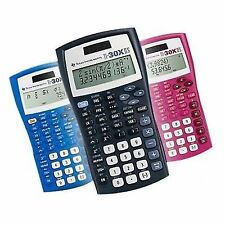 Texas Instruments Ti-30x IIS Calculator Pink Blue Black For Math Science