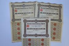 SOCIETE COTONNIERE DE SAIGON ACTION 250 FRANCS PARIS 1925 1927 X 35 ACTIONS
