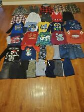Huge lot of 37 piece boy's Fall & Winter clothes size M, 7/8,10