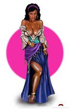 Esmeralda disney fairy tale comics cartoon mature 11x17 signed print Dan DeMille