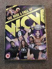 WWE: The Rise and Fall of WCW DVD (2010) Wwf  Crockett Promotions Eric Bischoff