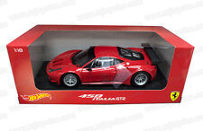 1:18 HOT WHEELS FOUNDATION AUTO DIE CAST FERRARI 458 ITALIA GT2 BCJ77