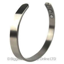 New Style Titanium Magnetic Bangle/Bracelet XL Plain Bio Magnet NdFeB Neodymium