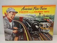 1953 American Flyer Trains Erector and Other Gilbert Toys Catalog New