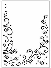 """Embossing Folders - """"Daisy Flourish"""" Ctfd3042 For Scrapbooking And Cards"""