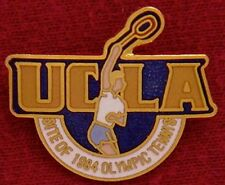 Tennis Olympic Venue Pin Badge ~ 1984 ~ Los Angeles ~ UCLA