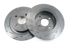 Ford Focus RS mk1 2.0l Rear Brake Discs EBC Ultimax Grooved Uprated PAIR USR1334