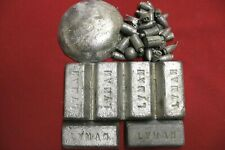 11.3 Pounds Lbs. Soft Lead Ingots for Casting Molding Jigs Sinkers Bullets