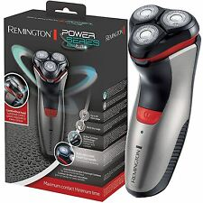Remington PowerSeries Aqua Plus Rotary Mens Electric Shaver Rechargeable, PR1350