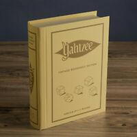 Yahtzee Vintage Bookshelf Edition Board Game BRAND NEW SEALED