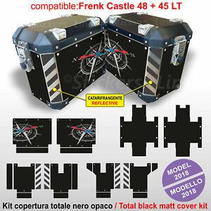 Kit adesivi valigie BMW R1200GS R1250GS LC GS ADV mod. Frenk Castle V1